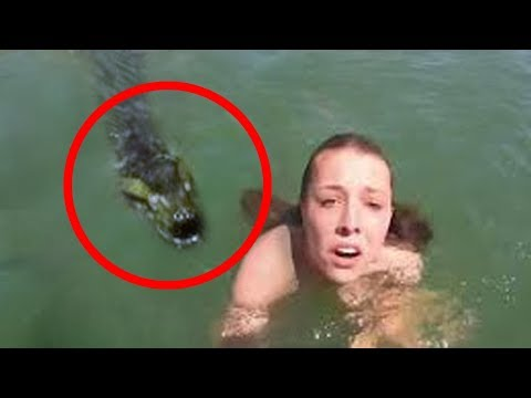 10 SCARY Fishing Videos Caught On Camera