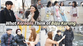 What Koreans Think Of Baju Kurung | Malaysian Costume