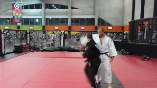 Nabah abdelhamid and ali smail doing some bojutsu techniques. Jujitsu self defense