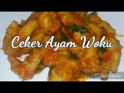 Video RESEP CEKER AYAM WOKU | MASAKAN MANADO