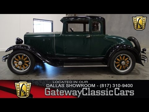 Video of 1931 54 Coupe located in DFW Airport Texas Offered by Gateway Classic Cars - Dallas - KF24