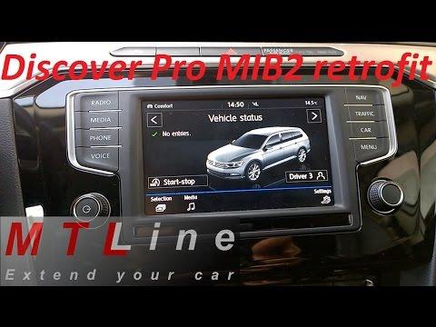 Retrofit of Discover Pro MIB2 with App-Connect to VW Passat
