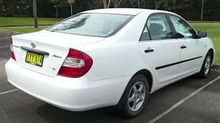 Locksmith Job 274. Open Toyota Camry - Keys In Trunk