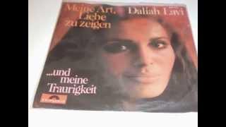 """DALIAH LAVI Meine Art, Liebe Zu Zeigen PLAK RECORD 7"""""""