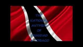 Trinidad & Tobago National Anthem performed by Keron James