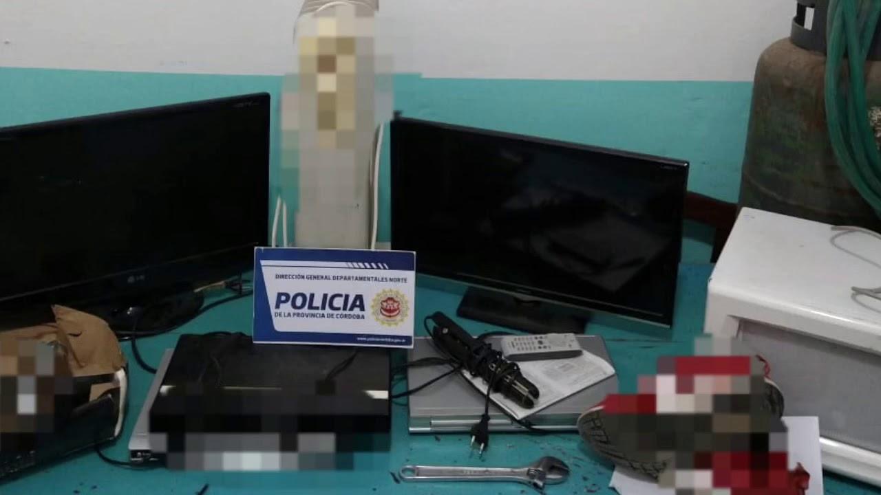 La Departamental Ischilín informó una catarata de allanamientos positivos