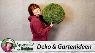 Advent Dekoideen 21 - DIY Dekokugeln für den Hauseingang oder Blumenkübel und Schalen