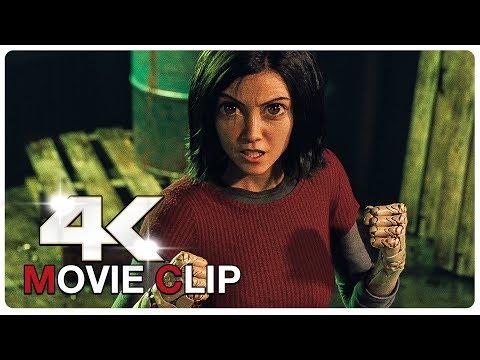 Alita Vs Cyborgs - Fight Scene - ALITA BATTLE ANGEL (2019) Movie CLIP 4K