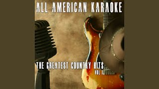 For Crying Out Loud (Karaoke Version) (Originally Performed By Anita Cochran)