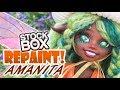 Download Video STOCK BOX Repaint! Amanita Mushroom Fairy OOAK Custom Doll