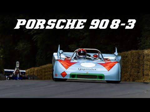 Porsche 908/3 Gulf - Fly-bys, downshifts and revving