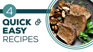 Quick Fix - Full Episode Friday - 4 Quick & Easy Family Meal Recipes