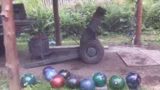 Bowling Ball Cannon / Homemade Howitzer