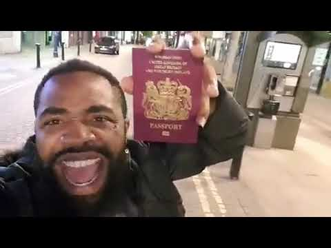 Who dash Woli Arole British passport like this? Hear what he said to those looking to get