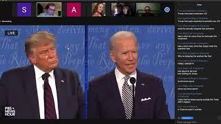 UCO Speech and Debate team discuss presidential debate