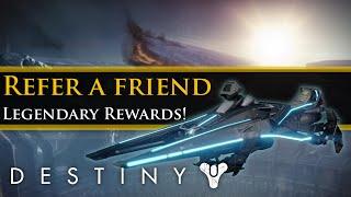 Destiny - Refer a friend Quest steps and rewards! New swords!