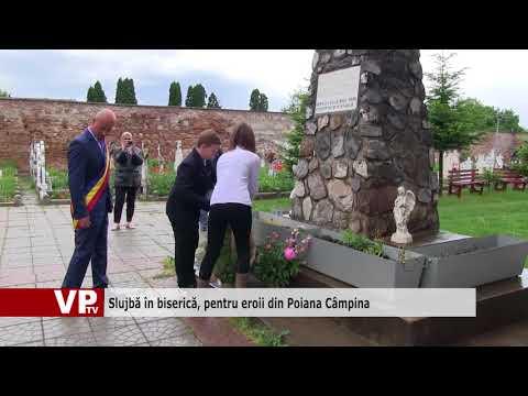 Slujbă în biserică, pentru eroii din Poiana Câmpina