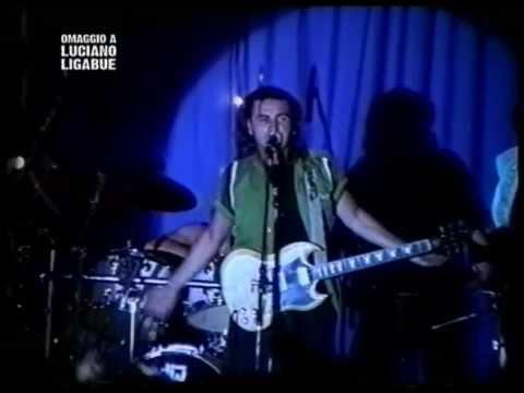 Luciano Ligabue 21 Settembre 1995 Il successo di Certe Notti  striscia N5