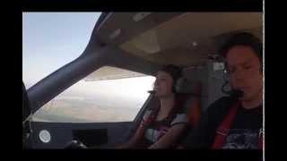 preview picture of video 'Lot widokowy samolotem ultralekkim'