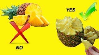How to Pull Apart a pineapple | LifeHackBook