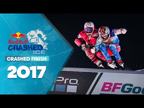 Men's Final Crashed Ice Saint Paul: Red Bull Crashed Ice 2017