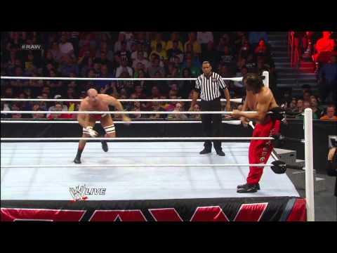 The Great Khali vs. Antonio Cesaro: Raw, Jan. 7, 2013
