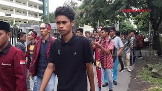 KERICUHAN WARNAI  AKSI PENOLAKAN KEDATANGAN PRESIDEN JOKOWI KE NTB.(Lombok NewsTV)