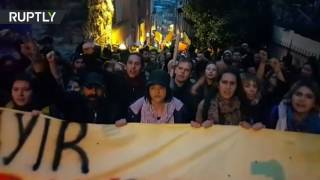 'No, we won!': Protesters gather in Istanbul against Turkey referendum results