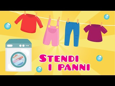 Stendi i Panni  | Canzoncine e Filastrocche per Bambini by Music For Happy Kids