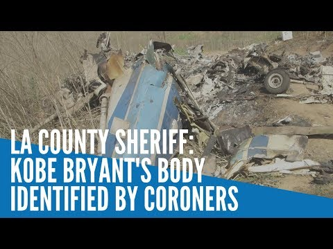[Inquirer]  Kobe Bryant's body identified among helicopter crash victims