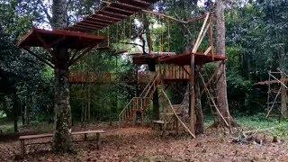 Rumah Pohon Banjarbaru Kawasan Wisata Yang Hit Saat Ini