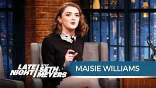 Maisie Williams Talks Game of Thrones Season 6