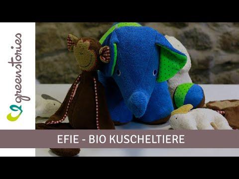 BIO Kuscheltiere | Efie | Spieluhr, Schnuffeltuch & mehr!