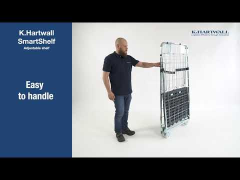 K.Hartwall SmartShelf® for Compactainer® and Foldia®