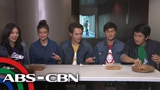 "Rated K: The Cast Of ""Bagani"" Samples Enrile, Cagayan's Exotic Dishes"