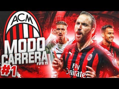 ¡ARRANCAMOS AVENTURA! #01     MODO CARRERA - AC MILAN   FIFA 19
