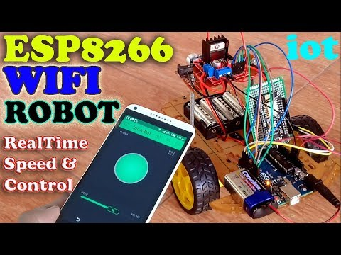 ARDUINO PROJECTS - Controlling Dc Motor with L293D or L298N