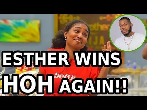 BBNAIJA QUICK UPDATE: ESTHER WINS THE HOH CHALLENGE AGAIN || WEEK 8
