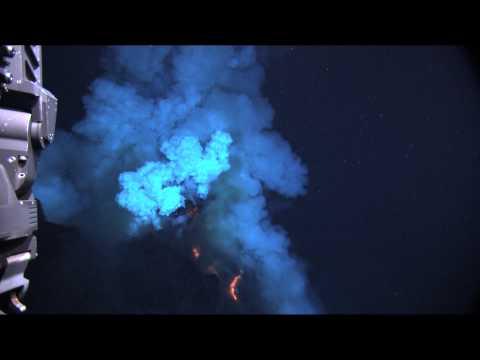 بركان تحت الماء في الثوران ماتا الغربية (1 من 2) [HD]