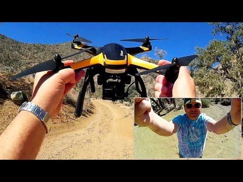 hubsan-x4-pro-fpv-drone-mining-camp-exploration