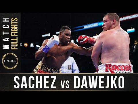 Фрэнк Санчес – Джоуи Давейко / Sanchez vs Dawejko