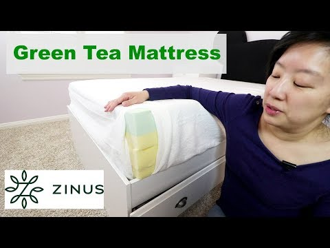 Zinus Green Tea Memory Foam Mattress Review