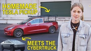 Driving my car around is... weird || TRUCKLA UPDATE + CYBERTRUCK