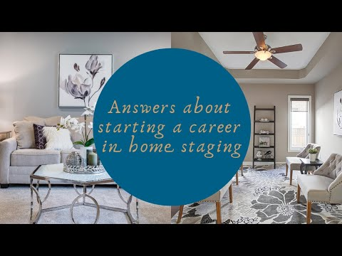 Answers about Starting a Career in Home Staging - YouTube