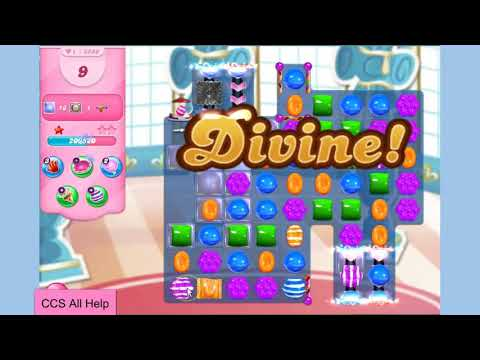 Candy Crush Saga Level 5586 NO BOOSTERS Cookie