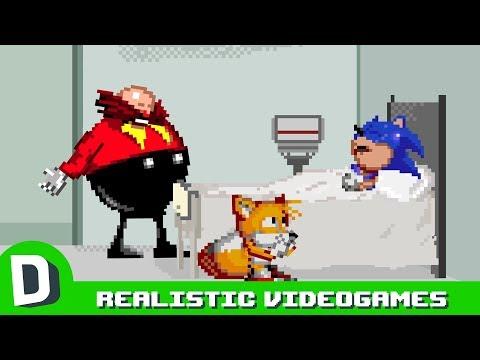 Kdyby byly videohry o 11 % realističtější - Dorkly Bits