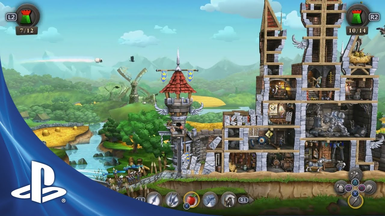 CastleStorm Coming to PS3 and PS Vita on November 5th