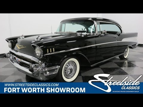 Video of Classic '57 Chevrolet Bel Air - $48,995.00 Offered by Streetside Classics - Dallas / Fort Worth - Q46F