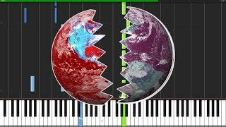 Mad World (Gary Jules' Version) - Tears for Fears [Piano Tutorial] (Synthesia) // MrBromaba