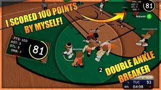 I SCORED 100 POINTS BY MYSELF! - MIKE JOHNSON DOMINATION - RB World 3 Gameplay